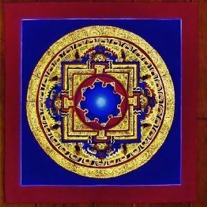 シ・トゥー テルサル密教体系 手描き曼荼羅 Mn1523|himal