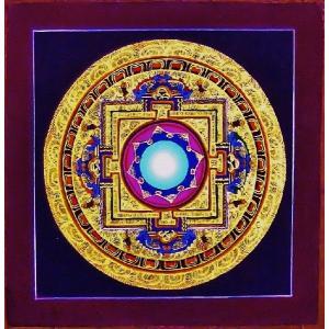 シ・トゥー テルサル密教体系 手描き曼荼羅 Mn1524|himal