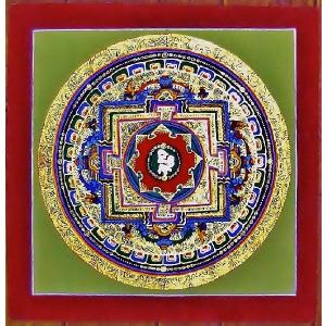 シ・トゥー テルサル密教体系 手描き曼荼羅 Mn1527|himal
