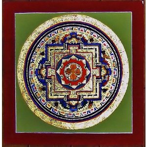 シ・トゥー テルサル密教体系 手描き曼荼羅 Mn1529|himal
