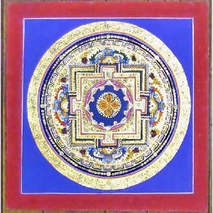 シ・トゥー テルサル密教体系 手描き曼荼羅 Mn1530|himal