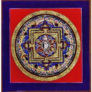 ティメー・ソーティク テルサル密教体系 手描き曼荼羅 Mn1532|himal