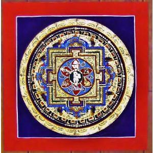 ティメー・ソーティク テルサル密教体系 手描き曼荼羅 Mn1533|himal