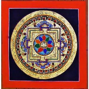 ティメー・ソーティク テルサル密教体系 手描き曼荼羅 Mn1534|himal