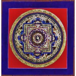 ラマ・サン・ドゥ テルサル密教体系 手描き曼荼羅 Mn1538|himal