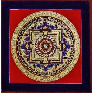 ラマ・サン・ドゥ テルサル密教体系 手描き曼荼羅 Mn1539|himal