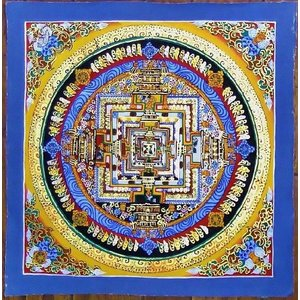 ド・ツォク テルサル密教体系 手描き曼荼羅 Mn1541|himal