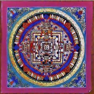 ド・ツォク テルサル密教体系 手描き曼荼羅 Mn1542|himal