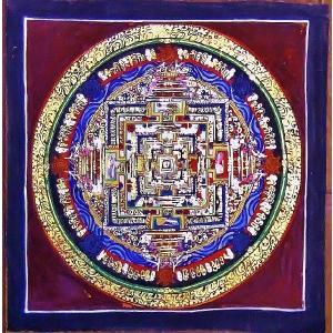 ド・ツォク テルサル密教体系 手描き曼荼羅 Mn1545|himal