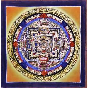 ド・ツォク テルサル密教体系 手描き曼荼羅 Mn1548|himal