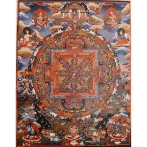 阿弥陀如来曼荼羅(柔和尊) ポスター(原画実寸大)Ms05|himal