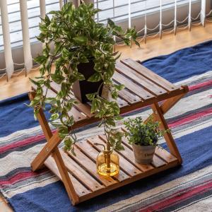 折りたたみセンターテーブルW465xD400xH305mm天然木オイル塗装|himalaya