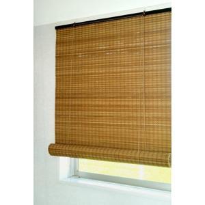 重ね織り モダンバンブースクリーン 88x135 和風 アジアンロールアップスクリーン 竹|himalaya