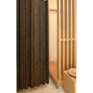 バンブーカーテン カスリ200x175cm1枚組  和風アジアン 竹|himalaya