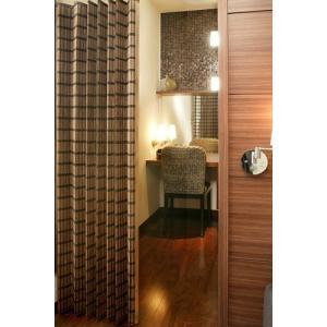 バンブーカーテン スクエア100x175cm1枚組  和風アジアン 竹|himalaya