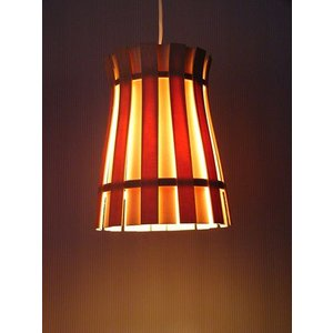 FlamesCROWN(王冠) 白木スライスペンダントランプインテリア照明|himalaya