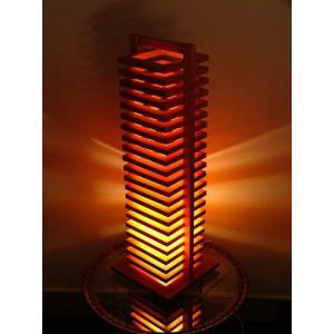 FlamesHIKIDASHI(引き出し) 木製可動フロアスタンドインテリア照明|himalaya