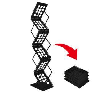 持ち運びできる小さく折りたたみ可能カタログスタンドマガジンラック(展示会に便利)|himalaya