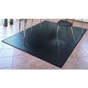 ひんやり黒竹ラグカーペット261x261江戸間4.5畳|himalaya