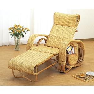 籐ラタン デラックス三ツ折寝椅子|himalaya