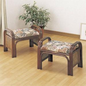 籐ラタン らくらく座椅子 2個組ハイタイプ|himalaya