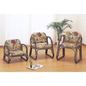 籐ラタン 思いやり座椅子ロータイプ|himalaya