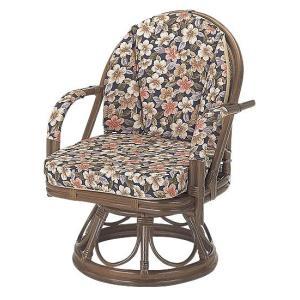 籐ラタン 回転座椅子さくら ハイタイプ|himalaya