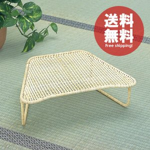 さわやか和ラタン シンプル籐正座椅子(大) 籐 アジアン|himalaya