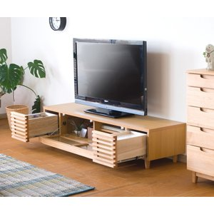 天然木無垢材使用自然系オイル塗装テレビボード153cm幅 himalaya