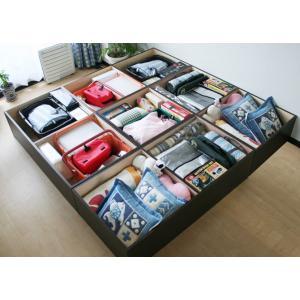 ユニット畳四畳半日本製 畳下に大容量の収納スペース himalaya