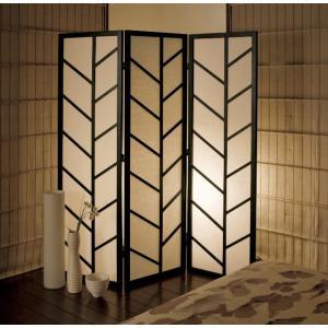 3連 折りたたみ式 パーティション パーテーション 木製 高さ150cm 幅44cmx3連 ウイルス対策 民芸和家具 kkkez|himalaya