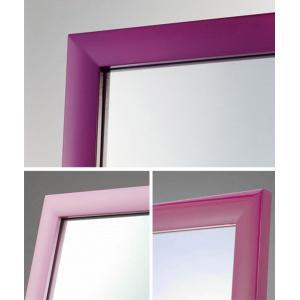 ピアノ塗装のスタンドミラー2012新生活|himalaya