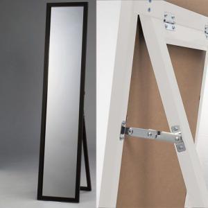 木製スタンドミラー鏡面塗装|himalaya