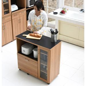 食器棚付きキッチンカウンターレンジボード|himalaya