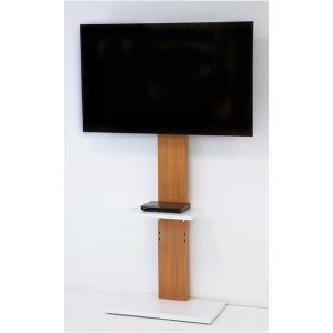 壁掛けっぽく見えるテレビ台ハイタイプ himalaya