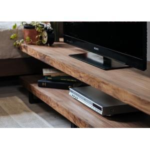ウォールナット突板オイル塗装TVローボード インダストリアル150cm幅 himalaya