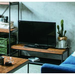 天然木パイン無垢材オイル塗装仕様ローボードテレビ台100cm幅 himalaya