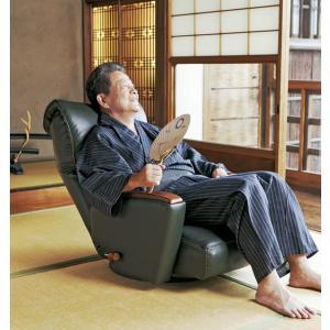 日本製当店最高級プレミアム座椅子本革貼kkym|himalaya