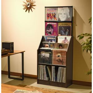 日本製 レコードコレクションラック280枚収納可能 himalaya