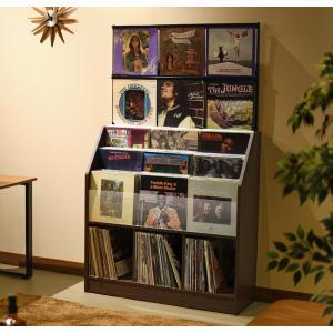日本製 レコードコレクションラック大型420枚収納可能 himalaya
