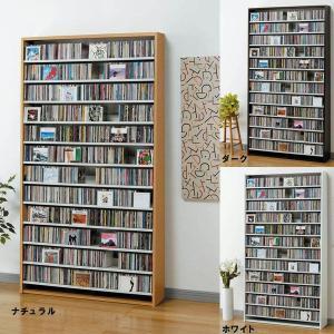 CDラック 1284枚収納CDストッカー(DVD対応) トールタイプLCS1284|himalaya