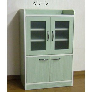 コンパクトミニキッチン食器棚B日本製 himalaya
