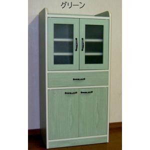 コンパクトミニキッチン食器棚C日本製 himalaya