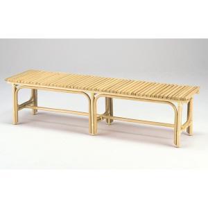 和ラタンベンチ158 籐 アジアン 長椅子 |himalaya