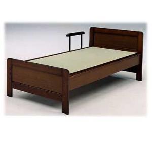 日本製手摺付き畳ベッド 高さ4段階調節可 (シングル)ベッド ベット himalaya