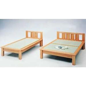 日本製天然素材でしっかり仕上げた畳ベッド セミダブルベッド ベット|himalaya