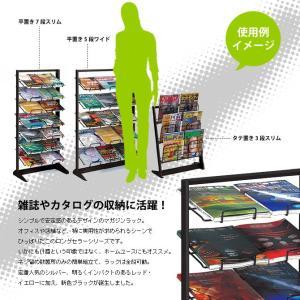 マガジンラック カタログスタンド 収納 平置き...の詳細画像2