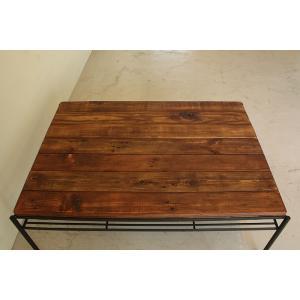 天然木無垢オイル塗装 リビングテーブル|himalaya