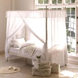 天蓋ベッド プリンセス シェーンベッドホワイト(フレームのみ) himebed|himalaya