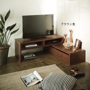 伸縮式テレビ台コーナー対応可能|himalaya